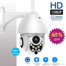 Satın Al Ev Güvenlik Kamera Izleme Toptan ICSee Kamera H.265x HD1080p Mini  Pan / Tilt IP Kamera 3.6mm Lens Nightvision Oto, TL388.76