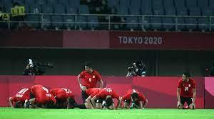 نتيجة مباراة مصر واستراليا في منافسات كرة القدم بـ اولمبياد طوكيو 2020