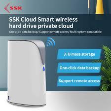 SSK <b>Portable Wireless</b> External Hard Drive <b>Smart</b> Hard Disk 1TB ...