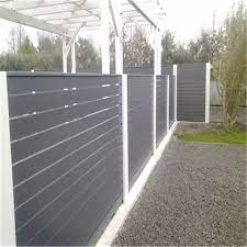 china powder coated iron wrought fence
