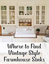where to find a vintage style farmhouse sink hello farmhouse