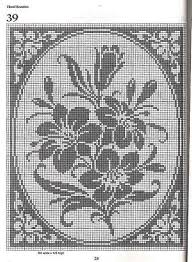 101 Filet Crochet Charts 28 Filet Crochet Charts Filet
