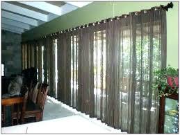 sliding glass doors covering curtain idea for energy saving ds door treatments ideas