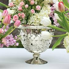 gold mercury glass compote vase mercury glass compote bowl in silver gold diameter x tall gold