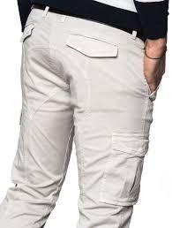 Light Cargo Pants Mens Clothing Light Cream Cargo Pants Nohow Street
