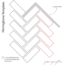 How To Layout Herringbone Pattern Cool Inspiration Design