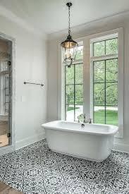 mediterranean bathroom floor tiles white and black bathroom ideas