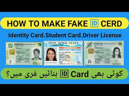 Fake Id Card Maker Online Free Pakistan