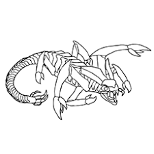 Small Picture Top 10 Free Printabe Scorpion Coloring Sheets For Your Toddler