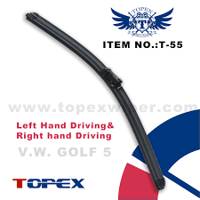 T 55 Volkswagen Wiper Blade Features A Aerodynamic Stream Guidance Design B Intergated High Carbon Metal With Great Bounce A Wiper Blades Volkswagen Renault