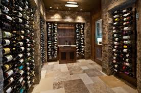 stylish wine cellar for those who prefer the classic look awesome wine cellar