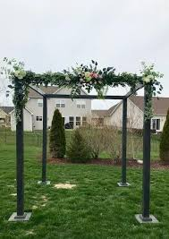 Pin by Chandra Dudley on Chuppahs | Garden arch, Outdoor, Outdoor ...