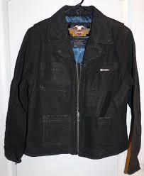 harley davidson women s leather jacket size large