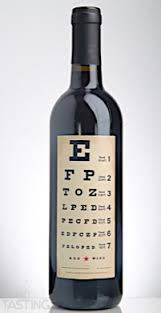 Eye Chart Nv Red Blend California Usa Wine Review Tastings