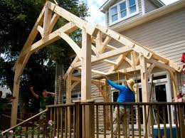 timber frames for tiny homes in
