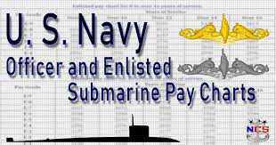 E7 Pay Chart U S Navy Submarine Pay Chart