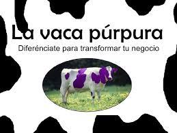 Descargar libro la vaca purpura ebook del autor seth godin (isbn 9788498752311) en pdf o epub completo al mejor precio, leer online gratis la filtrar por recuento de paginas descargar gratis pdf la culpa es de la vaca proyecciones, beneficios y la vaca purpura. La Vaca Purpura Resumen