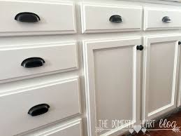painted white cabinetsChalk Paint vs Latex Paint for Kitchen Cabinets  DIY Farmhouse