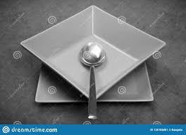 Modern Design Plates Crockery Modern Design Stock Image Image Of Empty Size