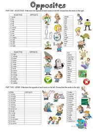 OPPOSITES | TEACHING | Pinterest | English, Worksheets and English ...