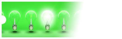 green lighting supply. light bulb graphic green lighting supply