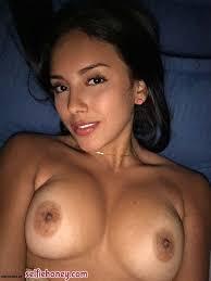 Hot Brunette Girl Selfie