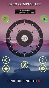 Compass galaxy app helps you to find driving directions from your current location to your destination on the map. Gyro Compass App For Android True North Finder For Android Apk Download