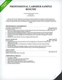general laborer resume skills laborer resume examples good labourer resume examples