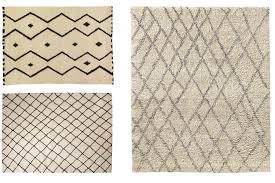 clockwise from top left mala carpet 2 200 3 200 madeline weinrib noura moroccan