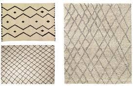clockwise from top left mala carpet 2 200 3 200 madeline weinrib noura moroccan
