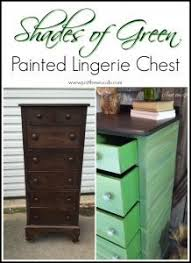 green painted furniture. Green-painted-lingerie-chest Green Painted Furniture