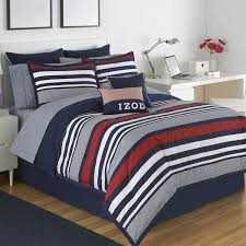 izod varsity stripe bedding