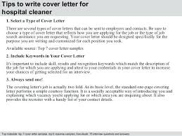 Cover Letter Cleaning Job Sample Cover Letter For Cleaning Ideal