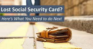 lost social security card here s what