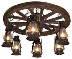 ww022 wagon wheel chandeliers with downlights light fixtures