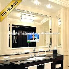 tv mirror bathroom one way mirror for interrogation room glass vanguard 19 waterproof mirror bathroom tv tv mirror bathroom mirror