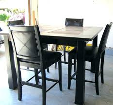 bistro style dining table and chairs pub style dining room tables sport co within black table bistro style dining table and chairs