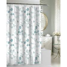 light blue and grey shower curtain curtain blue grey curtains