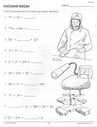 Nuclear-decay-worksheet-answers- & Nuclear Decay Worksheet ...