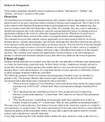 extended essays in business extended essay exemplars