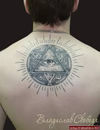 все изображения татуировки треугольник с глазом Heliographru