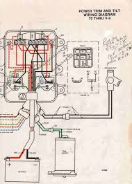 johnson tilt and trim wiring diagram johnson image how the wires on tilt trim run on 70 horsepower johnson outboard on johnson tilt and