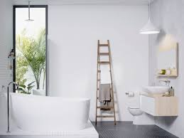 40 Mesmerizing Scandinavian Bathrooms To Refresh Your Home With Gorgeous Bathroom Refresh Minimalist