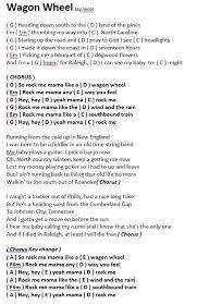 God Of This City Chord Chart Wagon Wheel Lyrics And Chords Youtube Google Search