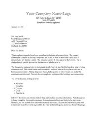 Business Letter Formatting Template Delectable Business Letter Outline Template Business Letter Format Template