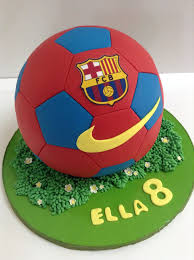 How To Decorate A Soccer Ball Cake Soccer ball cake Hair Pinterest Soccer ball cake Football 16