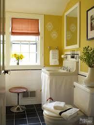 yellow bathroom color ideas. Remodelaholic Color Files BHG Yellow Bathroom Ideas