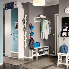ikea hallway furniture. a grey hallway with white hat rack treeshaped wall hanger and ikea furniture m