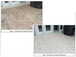 clean funguold stain from duradek vinyl deck