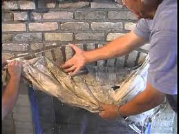 Whitewash A Brick FireplaceHow To Clean Brick Fireplace